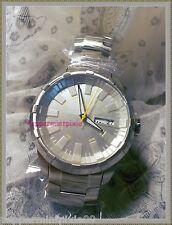 Men Puma Crown Metal Silver StainlessSteel Bracelet Watch PU102431004NewTags/Box