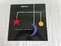 CHRIS REA - WIRED TO THE MOON VINYL LP/RECORD - VG+