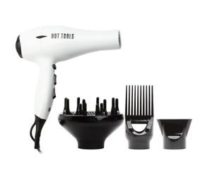 New HOT TOOLS Tourmoline 2000 Salon Turbo Ionic Hair Dryer 6 Speed #1043WH