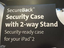Kensington SecureBack Security Case w/2-Way Stand for iPad2 => Lock Not Included