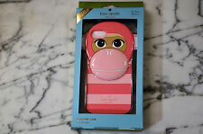 Kate Spade - Silicone Monkey iPhone 7  - Pink Multicolor