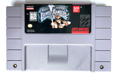 AUTHENTIC! Mighty Morphin Power Rangers The Movie Super Nintendo SNES Game