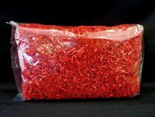 8 oz Red Premium Crinkle Cut Paper Shred Gift Bag Basket Grass Filler Bedding