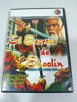 El Secreto de Shaolin Chung Chih Lo Lieh - Region 2 - DVD Español