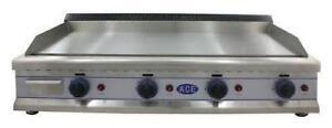 ACE Griddle Gas 110cm LPG *CHROME*- EN93