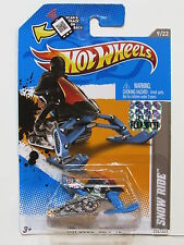 HOT WHEELS 2012 HW CODE CARS SNOW RIDE  FACTORY SEALED