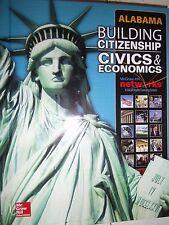 Building Citizenship Civics & Economics Alabama Student Edition 2015 0076601498
