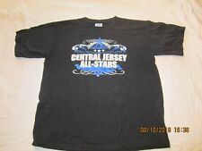 Vintage Central Jersey All Stars CJA Cheerleading Sponsor t shirt  Size Youth L