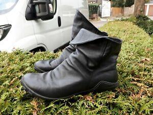 Arcus  Stiefeletten Schuhe  FOLK Pirat MITTELALTER LAGENLOOK schwarz Gr.41 Leder