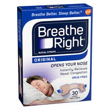 Breathe Right Nasal Strips Tan Large 30
