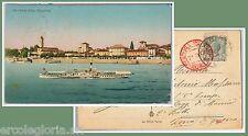55834 -- CARTOLINA d'Epoca - LAGO MAGGIORE:  Lesa  1917