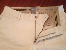 NWOT Classic Gap 100% Cotton Chinos Straight Fit Camel Men's W30-32 / L30