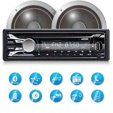 AGPTEK Car Stereo Bluetooth CD Player Audio AM FM Receiver USB MP3 AUX SD Input