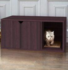 Premium Designer Cat Washroom Storage Wooden Cat Litter Box Enclosure Private