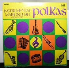 """MARION LUSH ORCHESTRA """"Instrumental Polkas"""" vinyl LP still SEALED"""