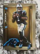 CAM NEWTON Carolina Panthers w/ Logo 2019 NFL Fathead Mini #30 - NEW