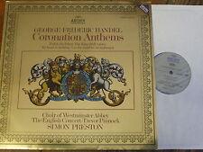 Handel himnos DE CORONACIÓN 2534 005/Preston