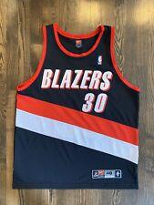 Vintage Nike Authentic RASHEED WALLACE #30 Portland Trail Blazers Jersey 48 XL