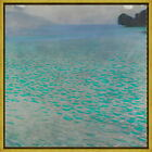 Framed Gustav Klimt Attersee Giclee Canvas Print Paintings Poster Reproduction