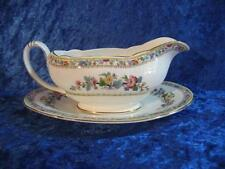 Unboxed British Royal Grafton Porcelain & China Gravy Boats