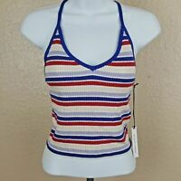 Kendall & Kylie Women's Knit Tank Top NWT Size S Multi Color D272