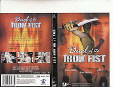 Duel of The Iron Fist-1971-David Chiang-Movie-DVD