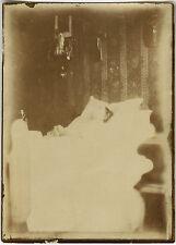PHOTO ANCIENNE - VINTAGE SNAPSHOT - POST MORTEM MORT DÉFUNT - DEAD DEATH GHOST 1