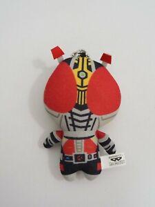 "Masked Rider Kamen My Hero Den-o Banpresto 2017  Mascot Plush 4"" Toy Doll japan"