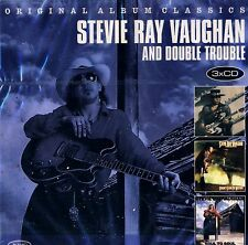 NEW 3CD // STEVIE RAY VAUGHAN // TEXAS FLOOD + SOUL to SOUL + COULDN'T STAND