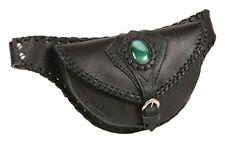 Milwaukee Leather MP8835-BLK-PCS Black Ladies Belt Bag with Gun Holster