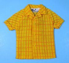 Vintage KEN #1428 Breakfast at 7 Pajama PAK YELLOW SHIRT 1969 1971 - MINT