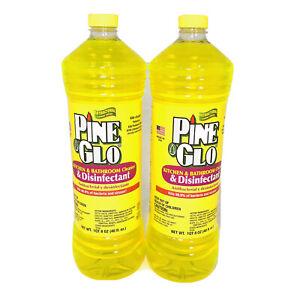 (2) Pine Glo Antibacterial & Disinfectant Cleaner Kills 99.9% Bacteria & Viruses