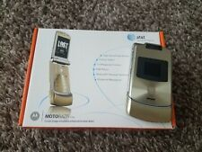 Motorola RAZR V3xx - Gold (AT&T) with Original Box & included papers