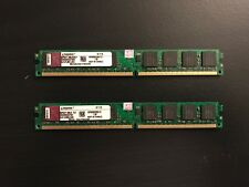 Kingston 1GBx2 DIMM 800 MHz PC2-6400 DDR2 SDRAM Memory (KVR800D2N6/2G)