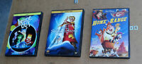 DISNEY DVD LOT: INSIDE OUT, THE SWORD IN THE STONE, HOME ON THE RANGE