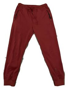 Y-3 Track Pants - Red - Small