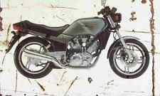 Yamaha XZ550 1982 Aged Vintage SIGN A3 LARGE Retro