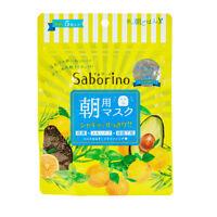 ☀BCL Saborino Morning Care Face Mask Fruit & Herb 5 sheets