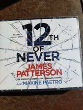 12th of Never by James Patterson & Maxine Paetro CD Audio Bk Women's Murder Club