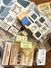 Huge Lot 10 -Stampin Up Stampsets Lot Nice!