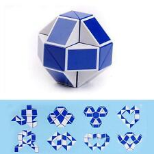 1pcs Magic Snake Shape Toy Game 3D Cube Puzzle Twist Puzzle Toy Gift Random L5YG