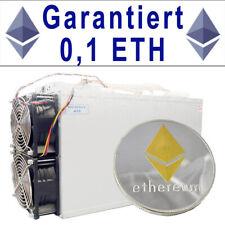 0,1 ETH - Garantiert - Ethereum Mining 24h - 3000 MH - Innosilicon A10 Pro