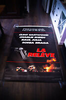 THE ROOKIE Clint Eastwood 4x6 ft Bus Shelter Vintage Movie Poster Original 1990