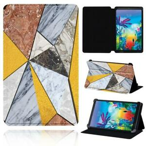 """Leather Smart Stand Case cover Fit LG G Pad 8.3"""" V500 / G Pad 5 10.1 FHD + pen"""