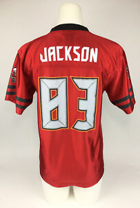 NFL Team Apparel Shirt Jersey Tampa Bay Buccaneers Jackson #83 Youth XL16/18 Red