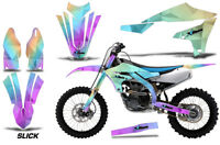 Dirt Bike Decal Graphics Kit MX Sticker Wrap For Yamaha YZ450F 2018+ SLICK