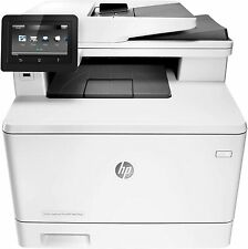 HP LaserJet Pro MFP M477FNW All-In-One WiFi Laser Color Printer Under 13k Pages