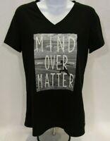 """Women's Medium (8-10) """"Mind Over Matter"""" Danskin Now T-Shirt"""