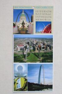 24 Postcards - Saint Louis, MS - Jeffersin National Expansion Memorial -Basilica
