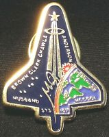 NASA STS-107 SPACE SHUTTLE Columbia MISSION Loss Memorial PIN